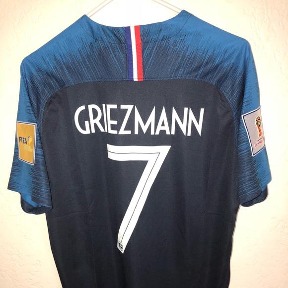 watch 130af 55d71 Griezmann 2018 World Cup France Jersey! NWT
